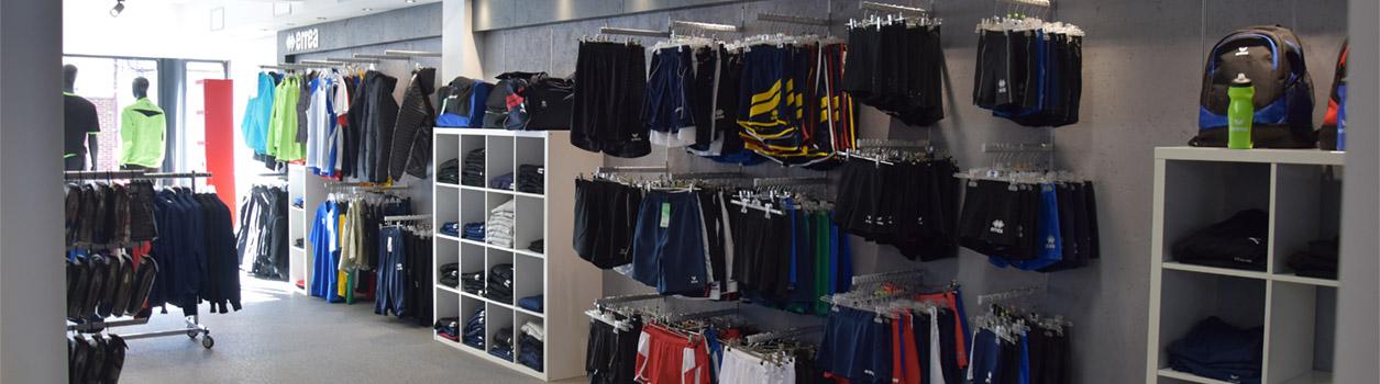 Sportmaat winkel
